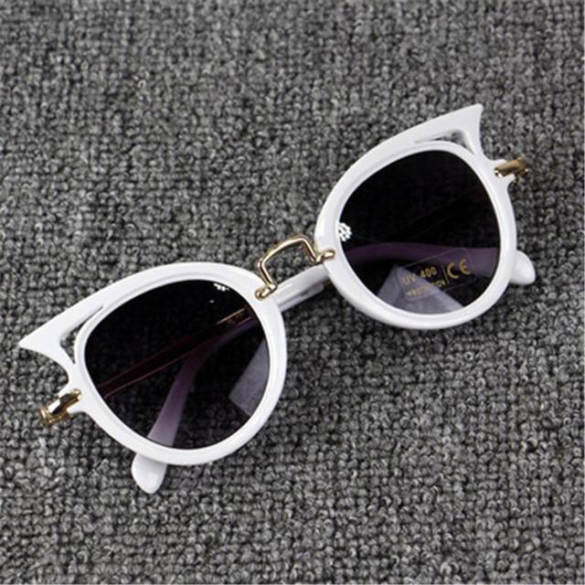 Kids Sunglasses Girls Brand Cat Eye Children Glasses Boys UV400 Lens Baby Sun glasses Cute Eyewear Shades Goggles