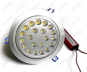 21W High Power LED Recessed Ceiling Downlight Lamps Store Office Modern Lighting