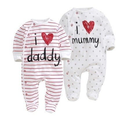 Shop for I Love Mommy And Daddy Baby Clothes & Accessories products from baby hats and blankets to baby bodysuits and t-shirts. We have the perfect gift for every newborn.