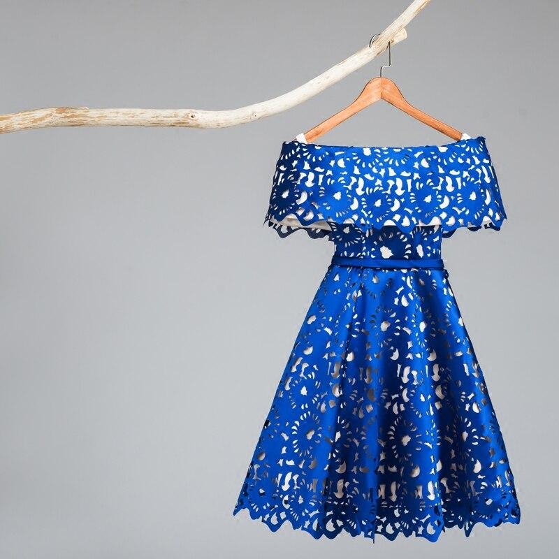 Robes de Fiesta 2016 Nouvelle Arrivée Faite sur commande De Bal Robes Courtes Sans Manches En Dentelle Élégante de Soirée Partie Robes