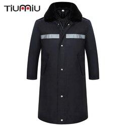 6 Style High Quality Unisex Workwear Uniform Safety Reflective Stripe Protective Clothing Men Security Multifunction Winter Coat