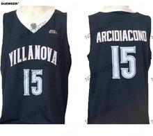 17c41476e4ab DUEWEER Mens Villanova Wildcats Ryan Arcidiacono Basketball Jersey Navy  Blue 15 Ryan Arcidiacono College Jerseys Stitched