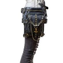 Ursprüngliche patent neue damen steam punk retro schulter umhängetasche multifunktionale travel taschen