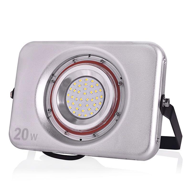 Reflector LED ultrafino 220V 240V Luz de inundación LED 10W 20W 30W - Iluminación exterior - foto 4