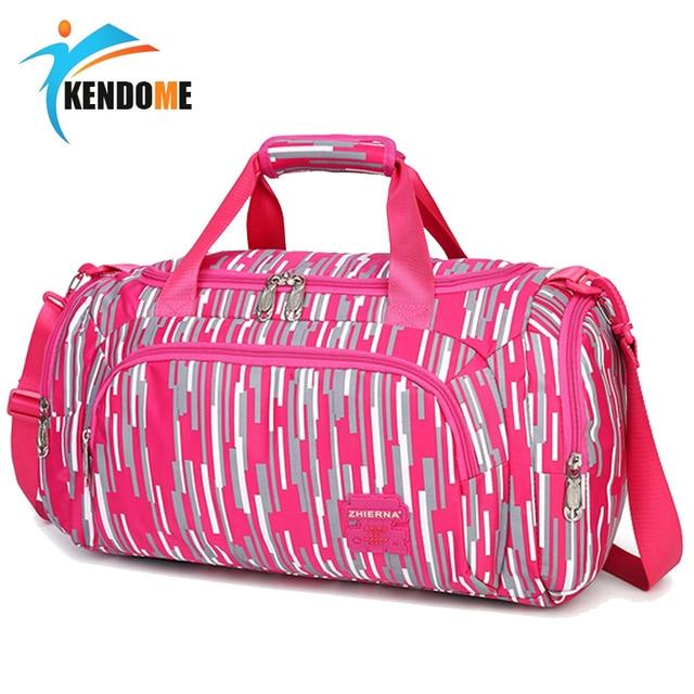17c77dae975 Gran venta bolsa deportiva entrenamiento gimnasio bolsa hombres mujer  Fitness bolsas Durable multifunción bolso al aire