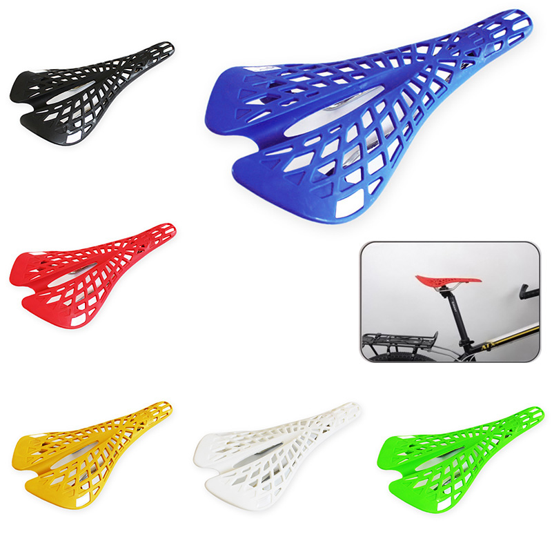 High Quality Super Light Plastic Bicycle Saddle Mountain MTB Bike V Shape Saddle Seat PVC Anti Shock Cushion NCM99 in Bicycle Saddle from Sports Entertainment