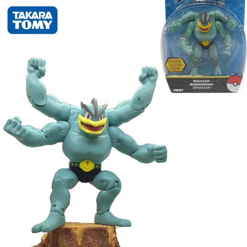 Gifts-Toys Mackogneur-Figure-Toys POKEMON Takara Tomy Collection for Children Machamp