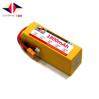 LYNYOUNG battery lipo 6s 22.2V 1800mAh 60C 120C for RC Car Boat Quadcopter drone helicopter