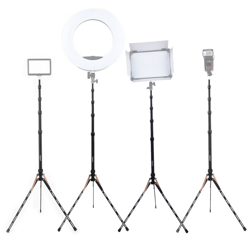 Image 5 - Fusitu FT 190B 2.2m Led Light Stand Portable Tripod Head Softbox For Photo Studio Photographic Light Flash Umbrellas Reflector-in Live Tripods from Consumer Electronics