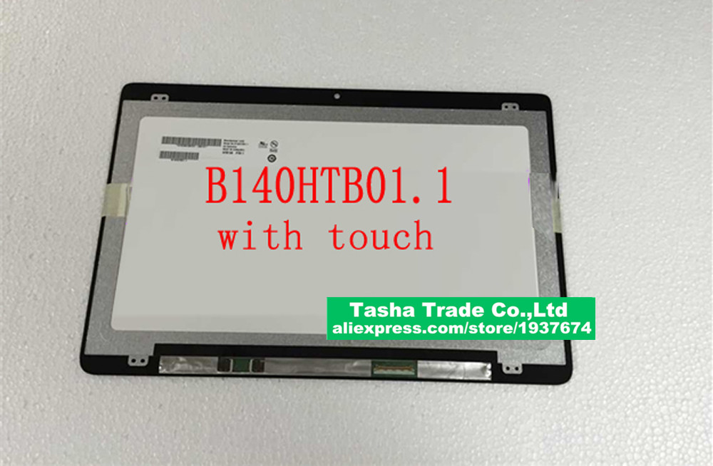 B140HTB01.1 with Touch Digitizer Screen Laptop LCD Screen Assembly New Original FHD 1920*1080B140HTB01.1 with Touch Digitizer Screen Laptop LCD Screen Assembly New Original FHD 1920*1080