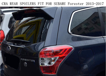 Yüksek Kalite ABS BOYA CRA ARKA KANAT BAGAJ DUDAK SPOILER FIT SUBARU Forester IÇIN 2013 2014 2015 2016 2017
