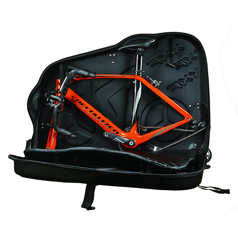 Nouveau EVA vélo dur cas boîte étanche à la pluie vélo voyage sac pour 26 27.5 VTT 700C route vélos Bicicleta vélo pack accessoires