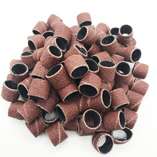 Bandes abrasives, 100 pièces, manches et 2 mandrins pour meulage, polissage électrique, papier de verre, ponçage