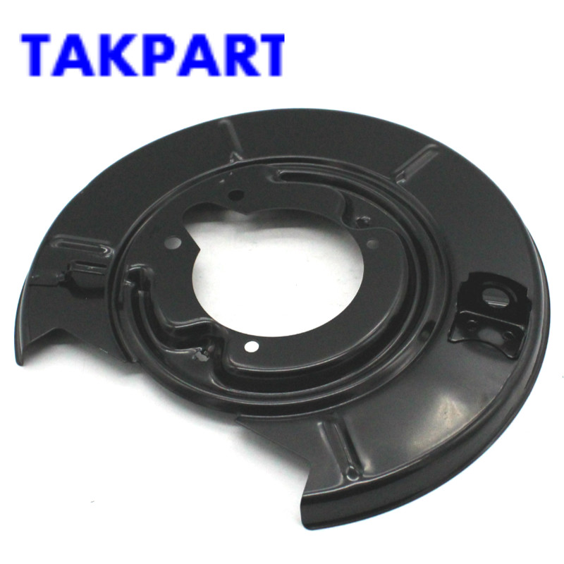 TAKPART FOR <font><b>BMW</b></font> <font><b>E30</b></font> E36 COMPACT Z3 REAR LEFT & RIGHT DISC <font><b>BRAKE</b></font> BACK PLATE 34211162062 34211162061 image