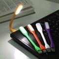 Portátil Mini USB Cabeceira LED Desk Lamp Lâmpada de Leitura Notebook Powerbank Luz Crianças Bedsite Luz Da Noite Luz Do Livro Flexível