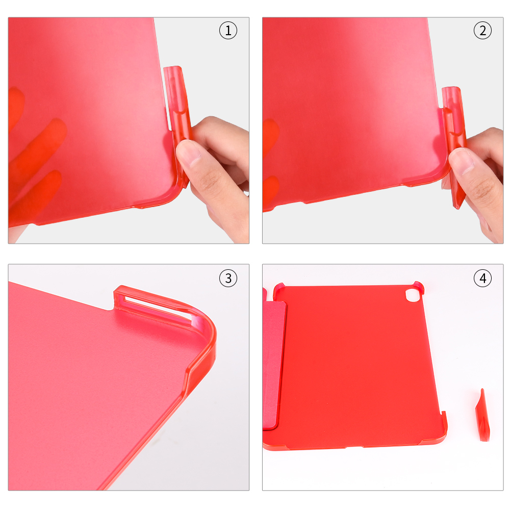 Flip Cover For iPad Pro 11 2018 Case with Pencil Holder GOLP Smart PU Leather Stand PC Hard Back cover for iPad Pro 11 case in Tablets e Books Case from Computer Office