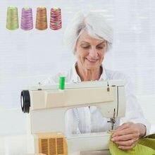 Радужные швейные нитки прочные DIY Вышивка крестиком линии аксессуары для одежды 2742 м