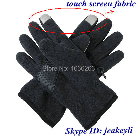 Ni-Co Conductive Fabric for Smart Android Cellphone Touch Screen Gloves