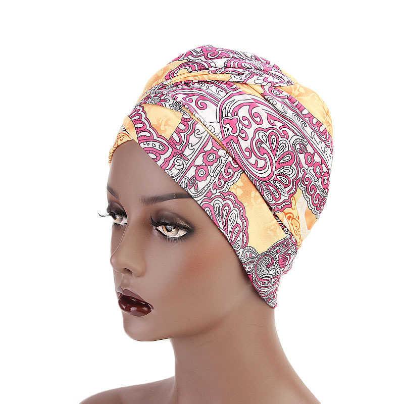 Helisopus модные длиннохвостая упругие платок Национальный Кепки Для женщин геометрический Дизайн головы Обёрточная бумага банданы аксессуары для волос