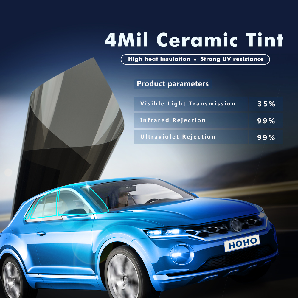 1.52x6m 4mil 35%VLT Black Super Clear Safety/ Security Film Nano Ceramic Window Tints Vinyl футболка wearcraft premium slim fit printio whisky cola
