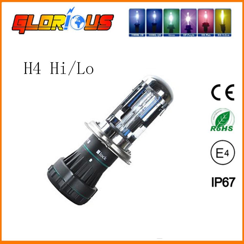 55W bi xenon H4 HID-glödlampa för bilstrålkastare 4300K - Bilbelysning - Foto 4