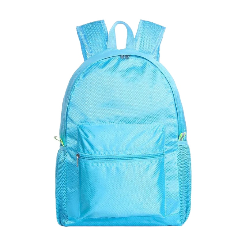 Waterproof Travel Backpack Large Capacity Breathable Nylon Outdoor Mountaineering Bag Diamond Shaped Folding Backpack Various Styles Climbing Bags Sports & Entertainment