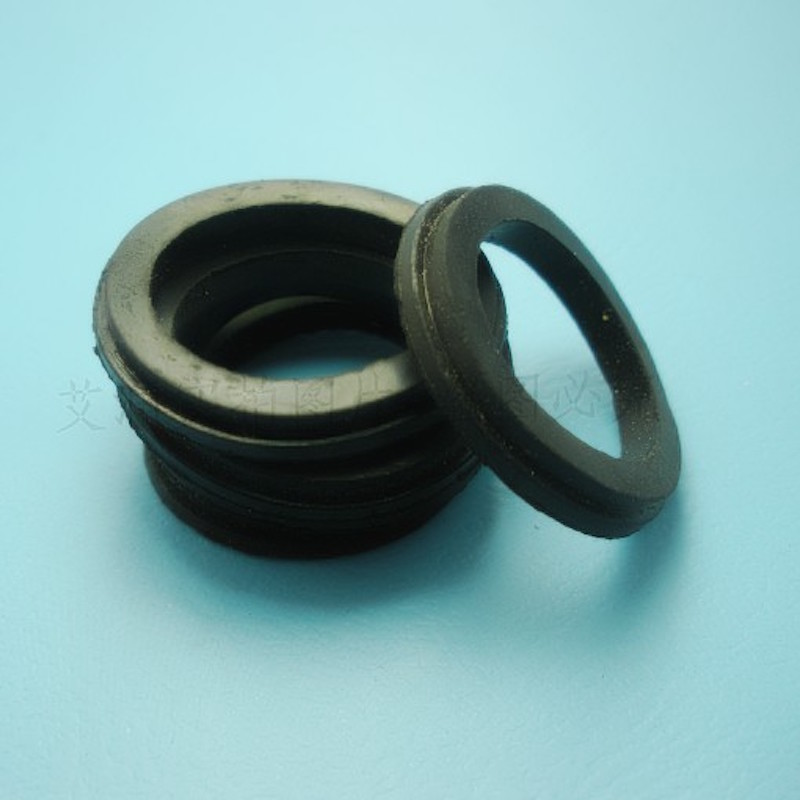 10x Rubber M28 Flat Washers Gaskets 27x19x3mm O Ring Sealing Flange ...