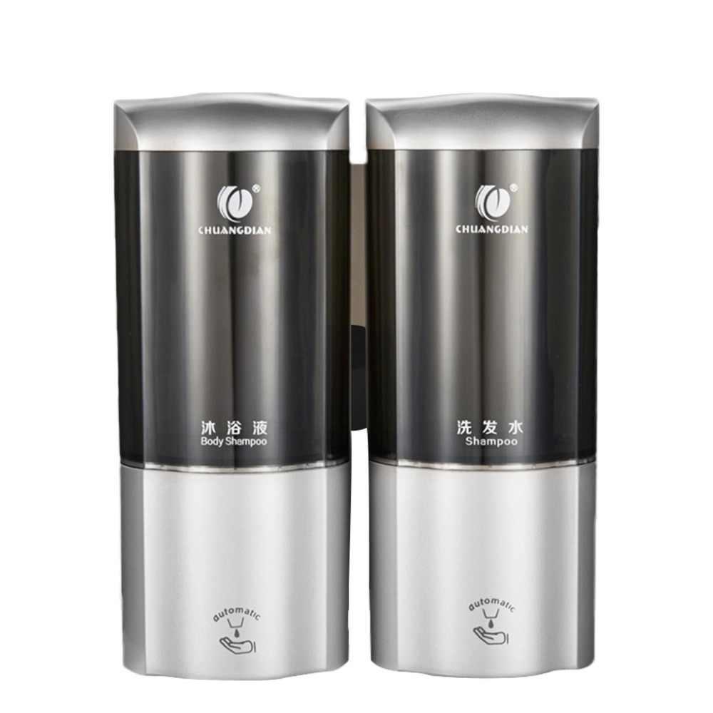 500*2 ML automatyczny dozownik mydła w płynie bezdotykowa inteligentny czujnik mydło w płynie Sanitizer pojemnik dozownik dla kuchnia łazienka