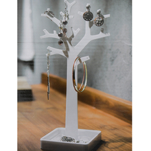 Acrylic Tree Jewelry Stand Display Earrings Bracelet Necklace Hanging Rings Holder Organizer