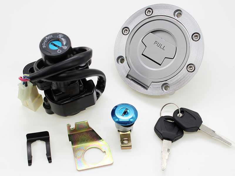US $12 33 |Motorcycle Ignition Switch Fuel Gas Tank Cap Seat Lock Key Set  for Yamaha YZF R1 1998 1999 YZF R6 1998 2000-in Motorbike Ingition from