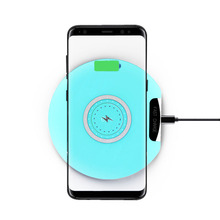 Qi 10w Fast Charge Wireless Charger for appel iPhone 8 X XS Mobile Phone For Samsung galaxy s9 S7 Edge smart chargeur induction