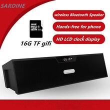 SDY-019 sardina Amplificador de Altavoz Bluetooth inalámbrico mini Portátil de Altavoces de ALTA FIDELIDAD de Radio FM altavoz Bluetooth del envío España Rusia