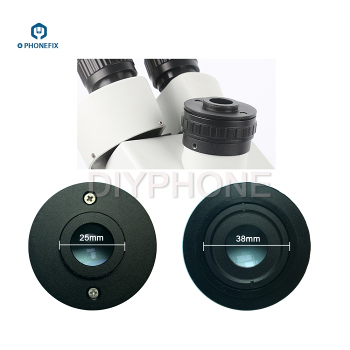 PHONEFIX high fidelity 0 35X focus simul focal C Mount Adapter Lens CTV for Industrial Trinocular