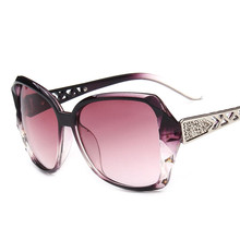 2018 Vintage Big Frame Sunglasses Women Brand Designer Gradient Lens Driving Sun glasses UV400 Oculos De Sol Feminino цена 2017
