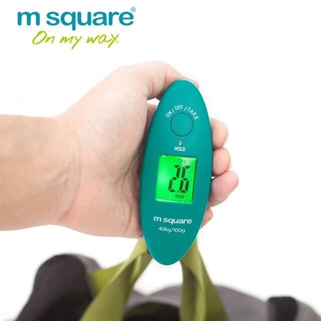 М квадратный чемодан весы Туристические товары карман Вес Баланс цифровые весы Мини Портативный Электронные детские весы 88lb/40 кг