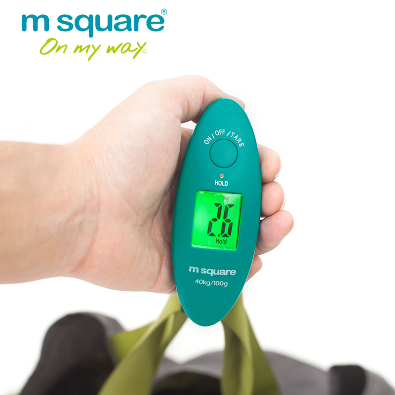 M Square Luggage Scale Travel Accessories Pocket Weight Balance Digtal Scale Libra Mini Portable Electronic Scales 88lb / 40kg