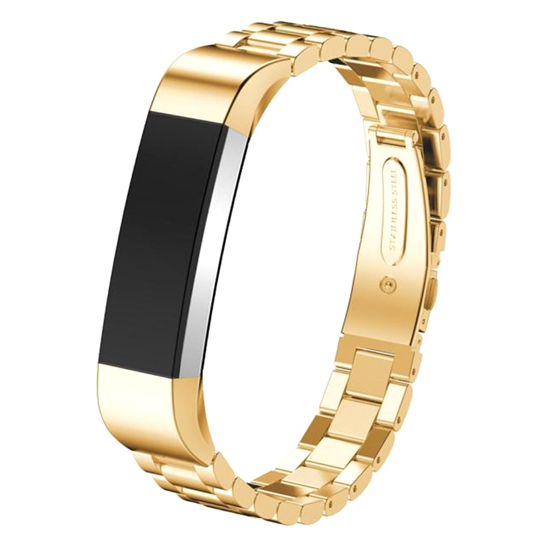 Stainless Steel Watch Band Fitness Tracker Wrist Strap For Fitbit Alta Bracelet Gold
