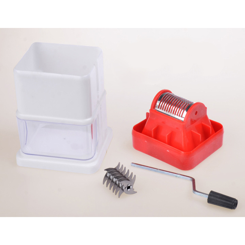 1Pc Portable ABS Manual Ice Shaver Shredding Machine Crusher For Shaved Ice Snow Cone Mayitr Fruit & Vegetable Tools