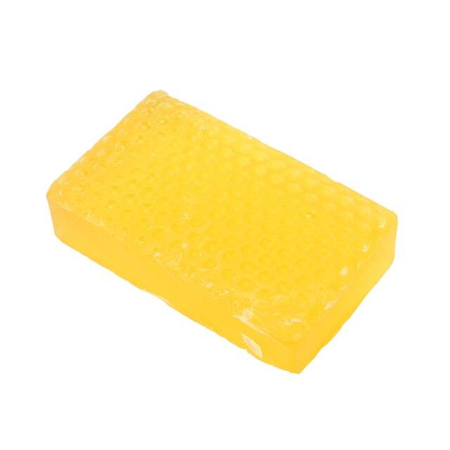 1PCS New 100% Handmade Whitening Peeling Glutathione Arbutin Honey Kojic acid Soap 3