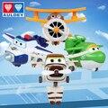NUEVA 7 cm 4 unids/set Superwings Alas Súper robot deformación juguetes figura de acción de colección de regalo de Navidad muñeca baojzhan