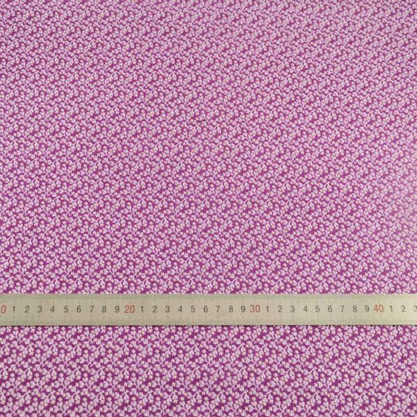 Tkanina bawełniana różowy kwiatowy Patchwork tkaniny zwykły odzież Doll Scrapbooking tekstylia domowe dekoracje tkaniny do szycia Fat Quarter CM