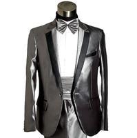 גריי הרשמית שמלת עיצובים צפצף המעיל האחרונים חליפת מכנסיים masculino terno גברים תלבושות homme נישואים של חליפות חתונה לגברים ריקוד