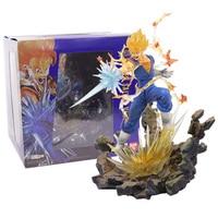 Dragon Ball Z Figuarts Zero Super Saiyan Vegetto Fighting Ver. PVC Figure Collectible Model Toy