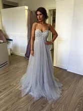 Neue Mode Silber Tüll Vestido A Line Sweet Brautjungfer Kleider 2017 Vintage Sicken Plus Size Prom Kleider