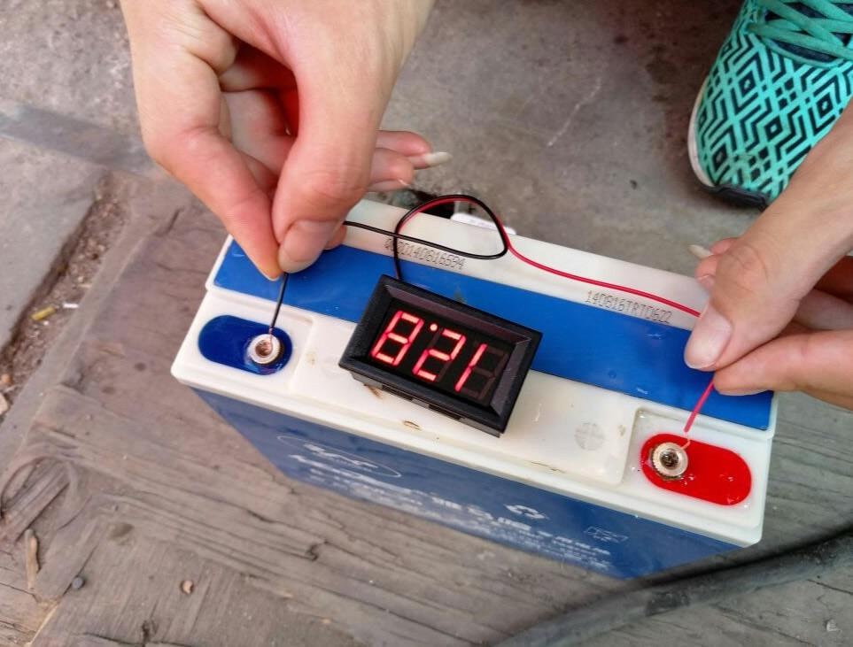 4.5V ~ 120V skaitmeninio voltmetro matuoklis voltimetro Automobilių - Matavimo prietaisai - Nuotrauka 5