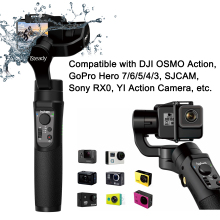 Hohem iSteady Pro 2 Splash Proof 3-Axis Handheld Gimble for DJI Osmo Sony RX0A ction Gopro Hero 7/6/5/4/3 SJCAM YI Action Camera hohem isteady pro 3 axis handheld gimbal stabilizer for sony rx0 gopro hero 7 6 5 4 3 sjcam yi cam action camera pk feiyutech g6