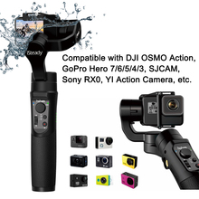Hohem iSteady Pro 2 Splash Proof 3-Axis Handheld Gimble for DJI Osmo Sony RX0A ction Gopro Hero 7/6/5/4/3 SJCAM YI Action Camera