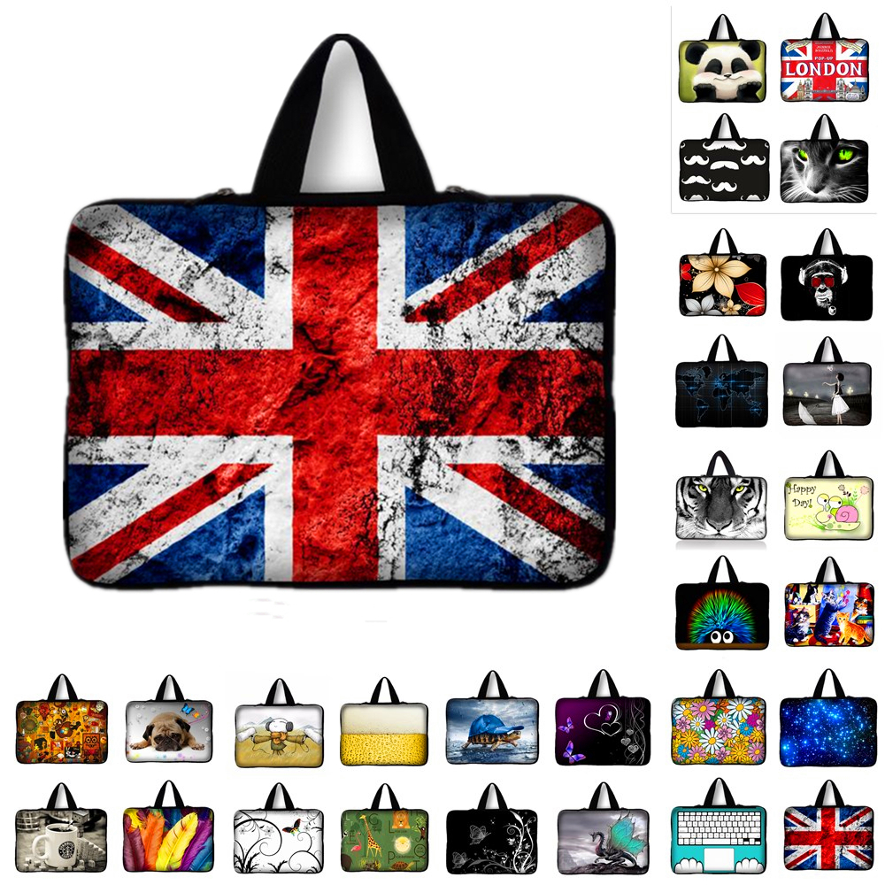 universal Notebook Laptop Sleeve Bag tablet Case For Samsung Asus Acer HP computer 9.7 10.1 11.6 13 13.3 14 15.4 15.6 17.3 Q
