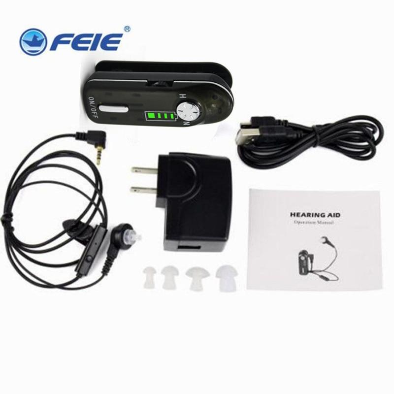 Spion lyssningsenhet recharegable fashionabla hörselapparat - Sjukvård - Foto 2