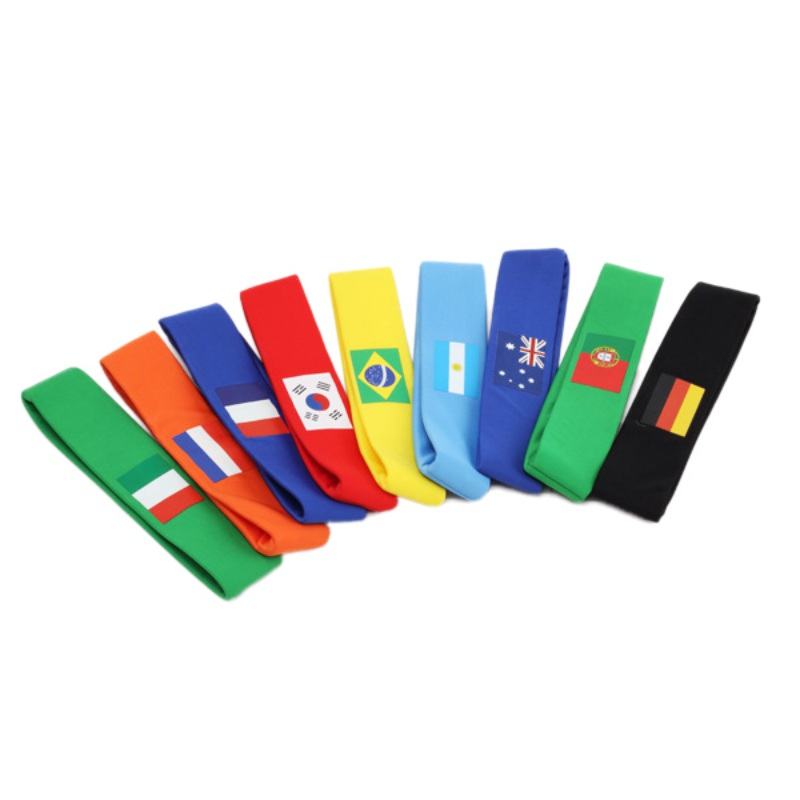 2018 World Cup In Russia Football Fan National Flag Headband Soccer Team Cheerleadings Sweat Absorption Comfortable Passion